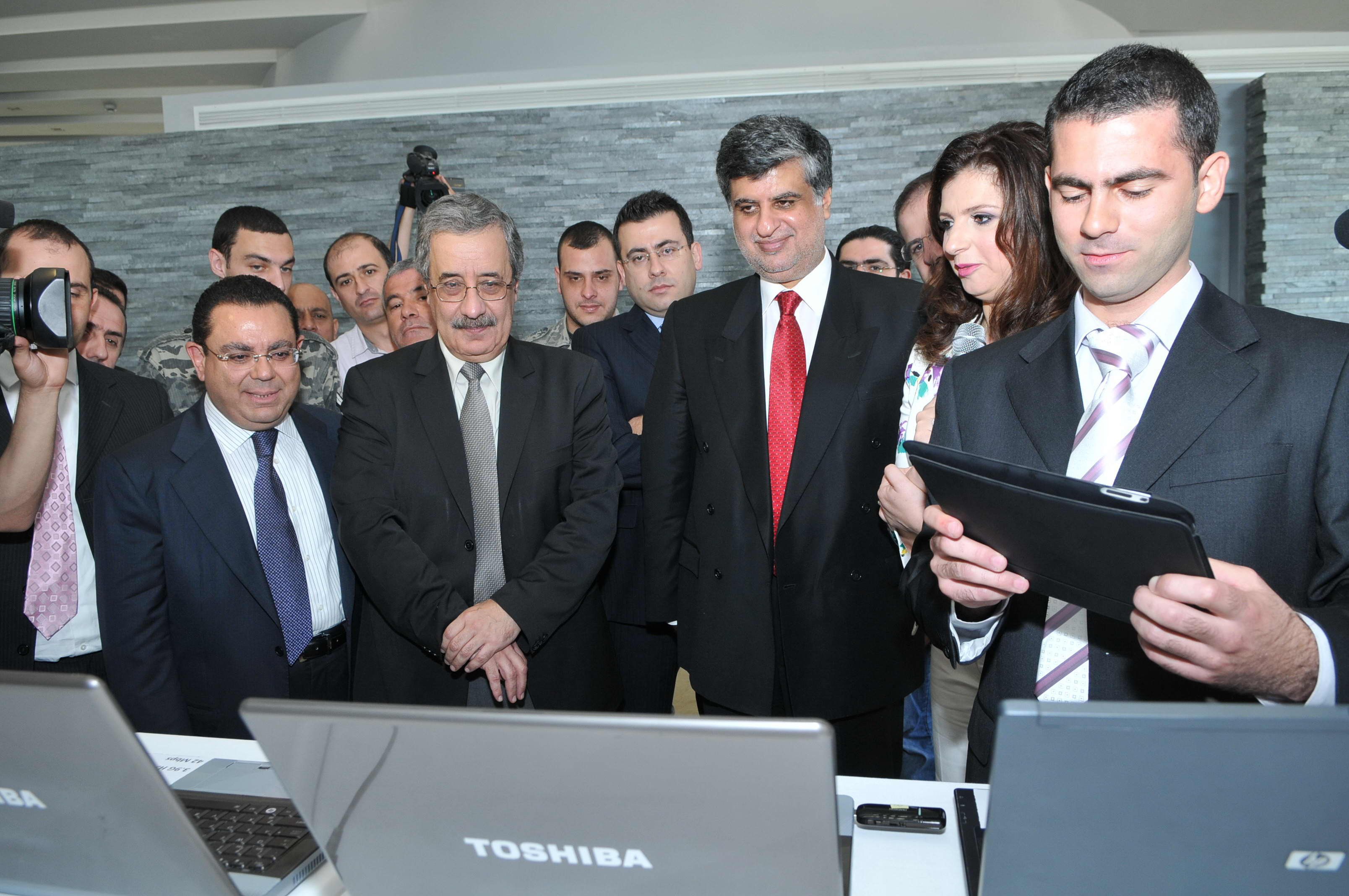 Lebanon S Mtc Touch Demonstrates Forthcoming Hi Speed