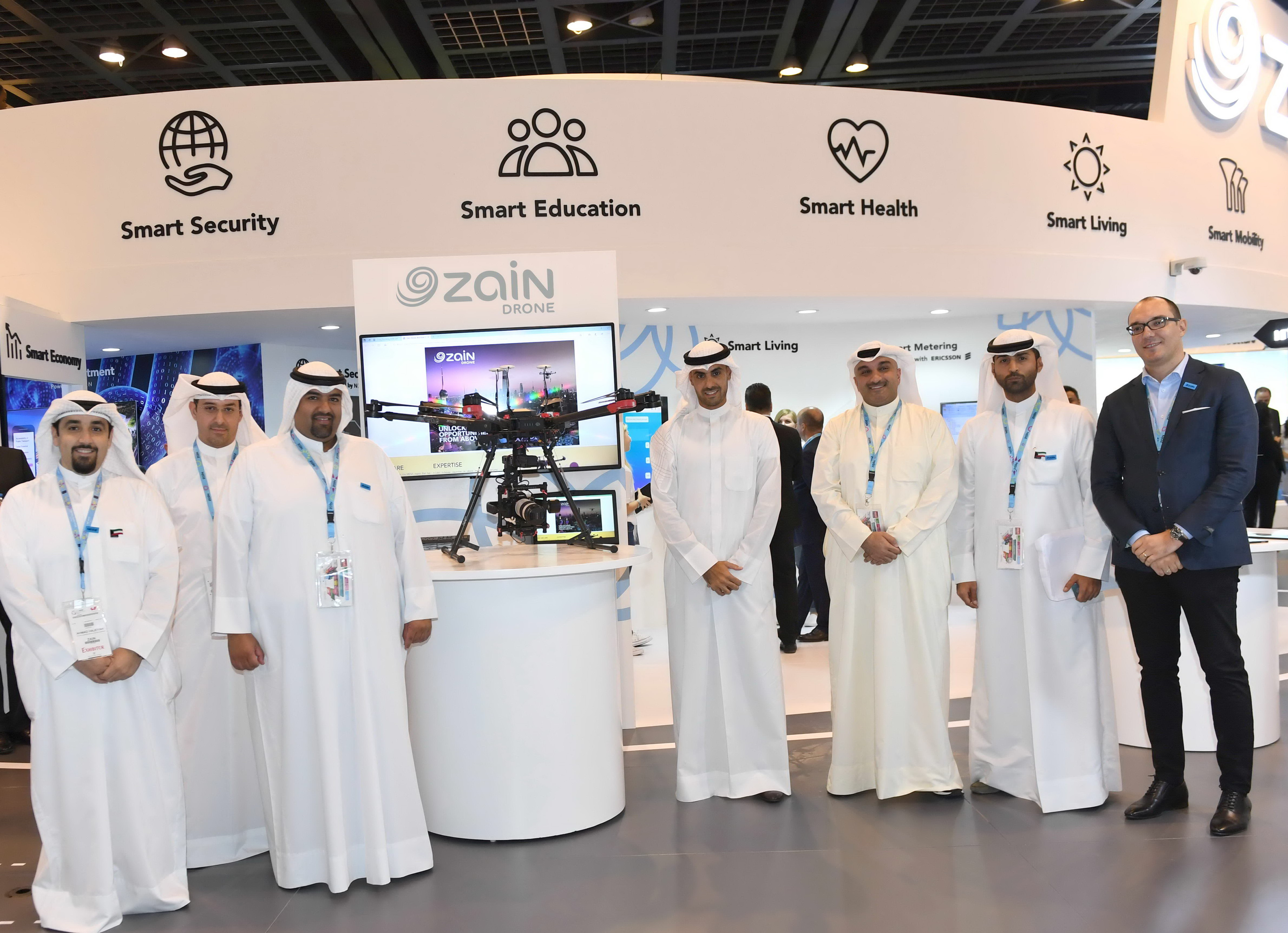 Unlocking opportunities from above: Zain Drone services